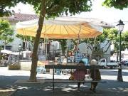 Cafes, Restaurants und ein Pavillon am Place Louis XIV. (Foto: Sudy)