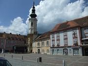 Hauptplatz und Rathausturm von Bad Radkersburg. (Foto: Sudy)