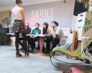 Model-Casting in der CuntRa, la Kunsthure in Graz. (Foto: Sudy)