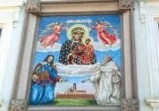 Wandgemälde des Gnadenbildes im Klosterhof. (Foto: Sudy)