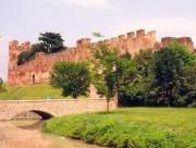 Die Mauern von Castelfranco. (Foto:Sudy)