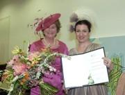 Anita Fürstin von Hohenberg und die Präsidentin der IFMH,  Christine Rohr. (Foto: Volker Wohlgemuth)