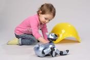 "Roboter Sony ""Aibo"" gilt als der erste Spielzeugroboter. © Technisches Museum Wien"