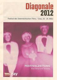 Titelseite der Festivalzeitung.