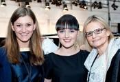 Moderatorin Sandra Thier, Designerin Eva Poleschinski und Journalistin Hedi Grager. © Eva Maria Guggenberger