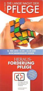Titelseite des Folders. © OEGKV Landesveband Steiermark