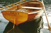 Martin Mährings Ruderboot. © Mähring