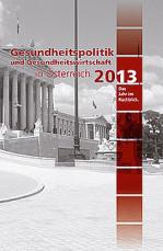 Cover des Jahrbuchs 2013.