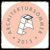 Architektursommer 2015 - Logo.