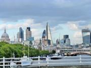Eine Londoner Skyline. © Hedi Grager