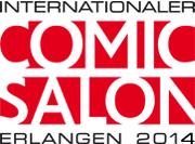 Logo in Farbe. © Internationaler Comic-Salon Erlangen
