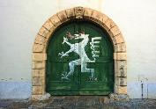 Zeughaus-Tor im hinteren Landhaushof. © 2016 Reinhard A. Sudy