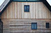 Holzfassade in Strass in der Steiermark. © 2016 Reinhard A. Sudy