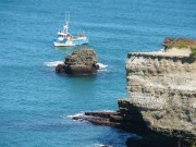 An der Küste von Biarritz. (Foto: Sudy)