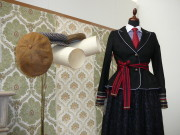Ausstellungsstücke am Stand der Grazer Modedesignerin Lena Hoschek.