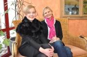 Modedesignerin Eva Poleschinski und Journalistin Hedi Grager. (Foto: Sudy)