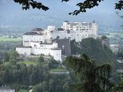 Die mächtige Festung Hohensalzburg. (Foto: Sudy)