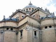 Kirchturmlandschaft der großen Renaissancekirche Madonna della Steccata, (Foto: Sudy)