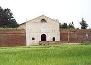 Die Kaiserpforte in der  Stadtmauer von Sabbioneta. (Foto: Sudy)