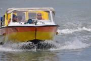 Ein Rettungsboot des Inselspitals im Einsatz. (Foto: Sudy)