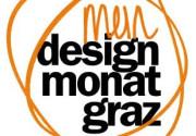 Grazer Designmonat.. Wortbildmarke der Website.