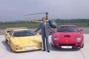 Heribert Kaspers große Leidenschaft: Ferraris. (Foto: Peter Korp)