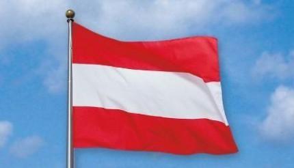 Österreichische Fahne. © Reinhard A. Sudy