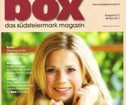 Johanna Setzer auf einem box-Cover.