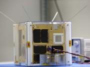 Nanosatellit der TU Graz. (Foto: © TU Graz/Lunghammer)
