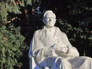 Statue im Grazer Roseggergarten. (Foto: Sudy))