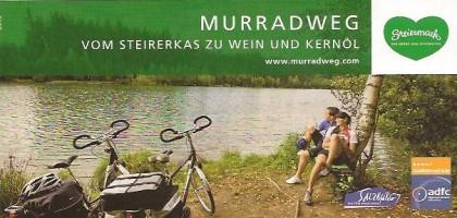 """Titelseite der Broschüre """"Murradweg"""". (© Steiermark Tourismus/ikarus.cc)"""