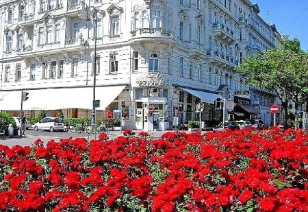 Das Café Prückl am Stubentor.
