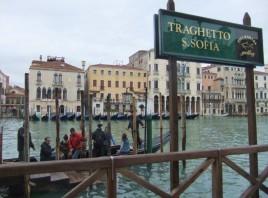 Traghetto in Venedig. (Foto: Sudy)