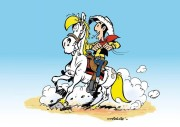 Lucky Luke, 2012. (© Achdé LUCKY COMICS 2013)
