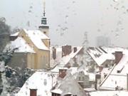 Winterliche Dachlandschaft in Graz. (Foto: Sudy)