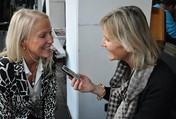 Sabine Dunkler und Hedi Grager.(Foto: Sudy)
