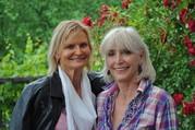 Hedi Grager und Nora Trierenberg. (Foto: Reinhard A. Sudy)