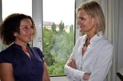 Konstanze Breitebner und Hedi Grager. (Foto: Reinhard A. Sudy)