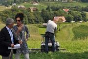 Produzent Dieter Pochlatko und Regisseurin Franziska Buch. © Sudy