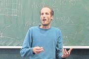 Martin Hairer bei einer Vorlesung / Bild: (c) University of Warwick