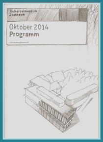 Cover des Programms Oktober 2014 mit Zeichnung von Shannon Wardell.