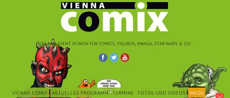 Ausschnitt.aus der Website. © www.viennacomix.at