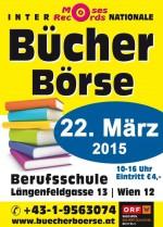 Plakat der Wiener Bücher Börse März 2015.