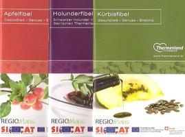 Apfel-, Holunder-, Kürbis- und Traubenfibel. © Thermenland Steiermark