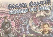 Titelseite-Ausschnitt von derGrazer vom 3. August 2014.
