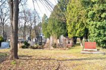 Blick in den jüdischen Friedhof. © Reinhard A. Sudy