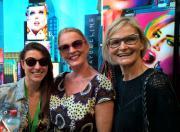Eva Maria Guggenberger, Nathalie Bertha und Hedi Grager. © 2015 Reinhard A. Sudy