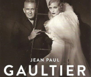 Ausschnitt aus dem Folder-Cover mit Jean Paul Gaultier und Nadja Auermann, Paris, 2015. © Peter Lindbergh Studio, Paris, Gagosian Gallery