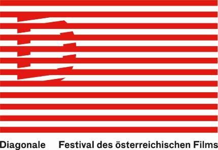 Diagonale Logo Flagge. © 2016 Diagonale