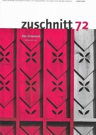 Coverbild von zuschnitt 72: Schule in Orsonnens, Schweiz